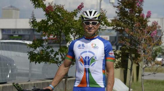 Andrea Chiandotto, una vita sulla bicicletta e un matrimonio nel quale dolcezze e glicemia pedalano insieme